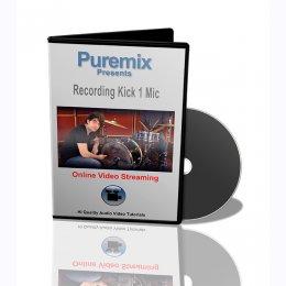 Puremix Recording Bass Drum 1 Mic