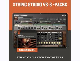 Applied Acoustics Systems String Studio VS-3 & Packs