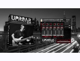 Chocolate Audio Uproar RAW - 8-String Baritone Guitar For Kontakt