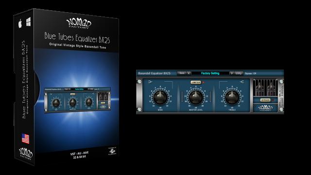 Blue Tubes Equalizer BX2S