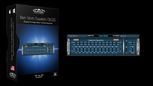 Blue Tubes Equalizer GEQ12