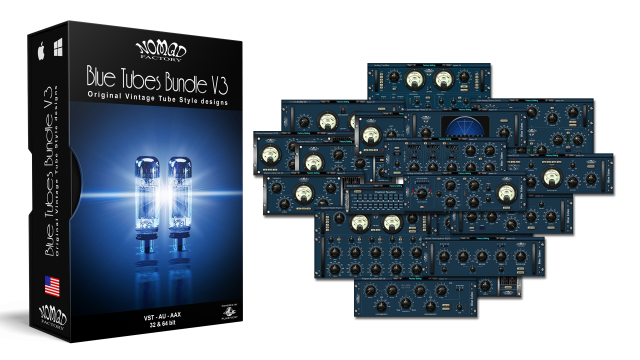 Blue Tubes Bundle V3