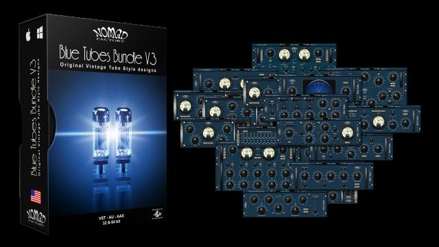 Blue Tubes Bundle V3